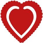 Herz-Clip / heart clip 0406