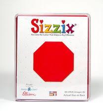 Sizzix Stanzform Originals LARGE Achteck # 2 / octagon # 2 38-0805