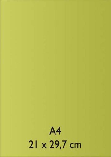Pearl Papier A 4 HELLGRÜN mit Klebefolie