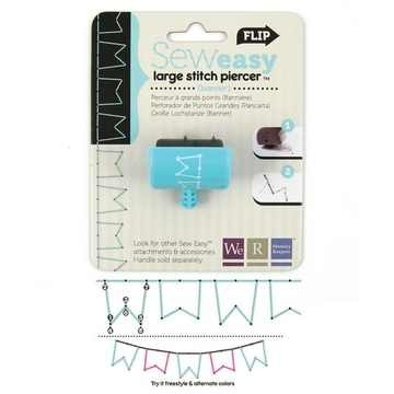 We R Memory Keepers Ersatz-Kopf Stitch Piercer LARGE BANNER 71096-7 ( türkis )