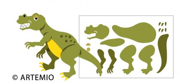 Artemio Happycut Stanzformen 6,8 x 11 cm Dinosaurier 18023005
