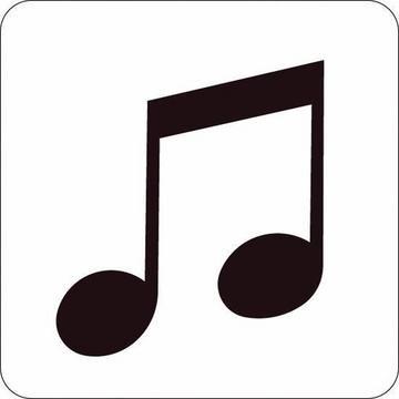 Cuttlebug Stanzform 1-er SMALL Musiknoten / music note 37-1420