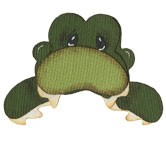 Bosskut Stanzform Alligator / alligator peeker 0310