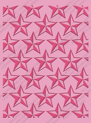 Cuttlebug Prägefolder Stars 37-1911