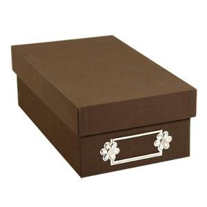 Sizzix Aufbewahrungsbox B R A U N klein 655395