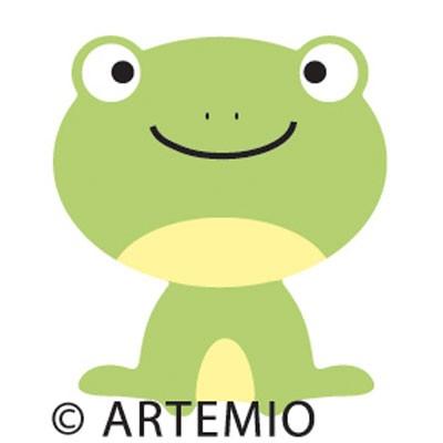 Artemio Happycut Stanzform 5,2 x 5,2 cm Frosch / frog 18020018
