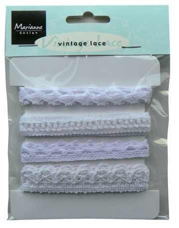 Marianne D Bänder Vintage Lace weiss JU0826