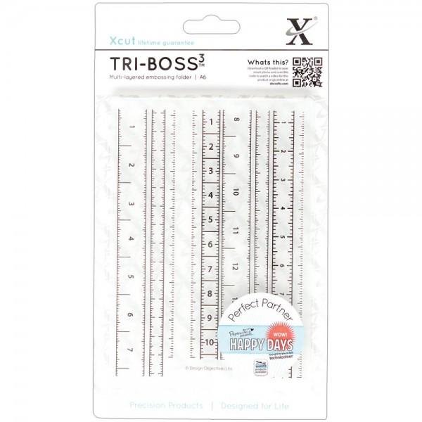 Xcut Prägefolder Maßband / Measuring Tape XCU 515109