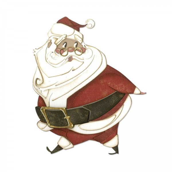 Sizzix Stanzform Thinlits Nikolaus / Jolly St. Nick, Colorize 664198