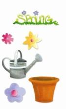 Sizzix Stanzform Sizzlits SMALL 4-er Set Sizzlits Frühlings-Set # 3 / spring set # 3 655317