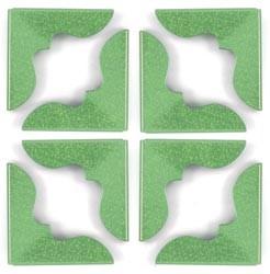 Crop-A-Dile III Buchecken Green Shimmer 41400-1