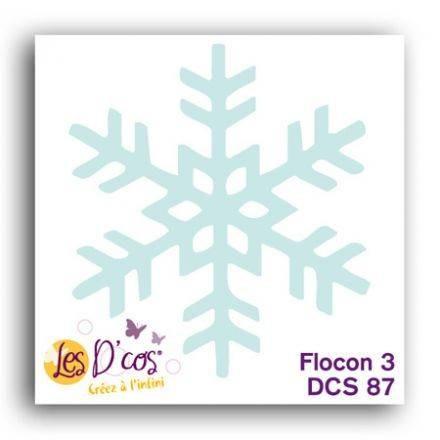 Toga Stanzform Schneeflocke 3 / Flocon 3 DCS87