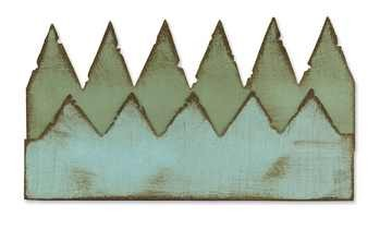 Sizzix Stanzform Edge Pennants 657181