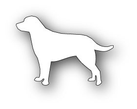 Poppystamps Stanzform Hund Labrador / Labrador 879 (disc.)