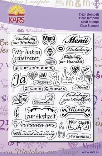 Clear Stamps Hochzeits-Sprüche 180013/1402