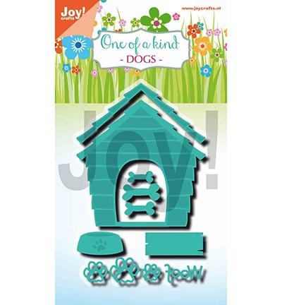 Joycrafts Stanzform Hundehütte / One of a Kind Dogs 6002/1331