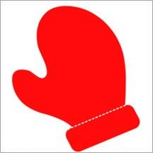 Allstar BIGZ Stanzform Handschuh / Mitten A 10163