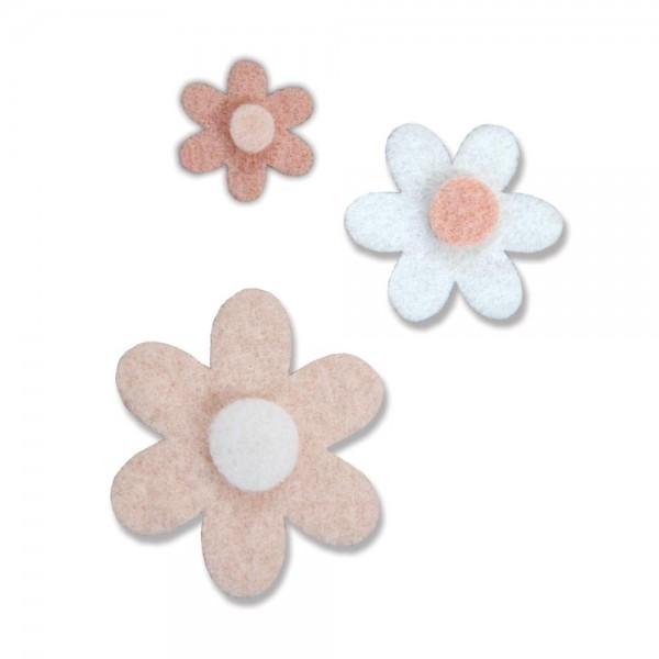 Spellbinders Steel Rule Contour Stanzform Blumen Daisies / Darling Daisies SR-003