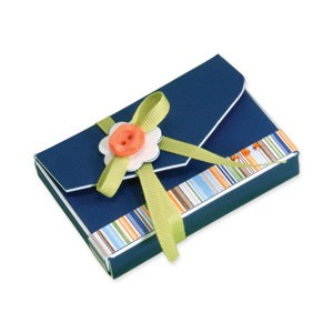 Sizzix Stanzform BIGZ XL ScoreBoard Visitenkarten-Box / box business card 656150