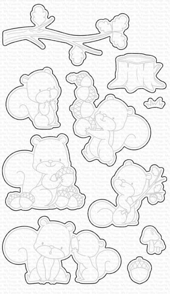 Dienamics Stanzformen Eichhörnchen / Squirrel ! MFT-1574