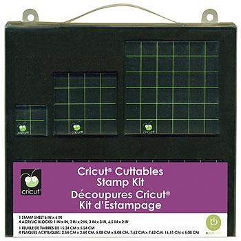 Cricut Stempelset zum Erstellen eigener Stempel 29-0684