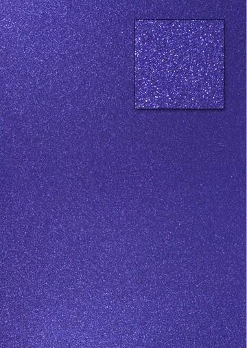 Glitterkarton ROYALBLAU A 4 653002/0220