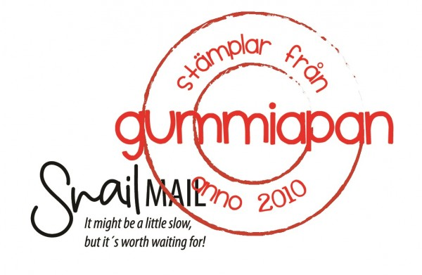 Gummiapan Stempelgummi ' Snail Mail, it might be a little slow, but it' s worth waiting for ! ' 1901