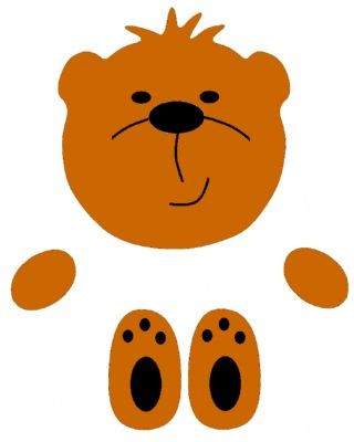 Go Kreate Stanzform Teddybär Kopf # 6 / bears head # 6 110002