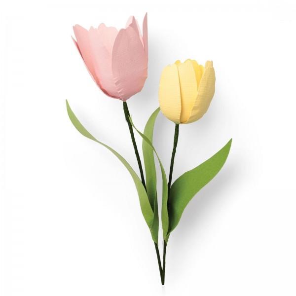 Sizzix Stanzform Thinlits Tulpen / Tulip 664390