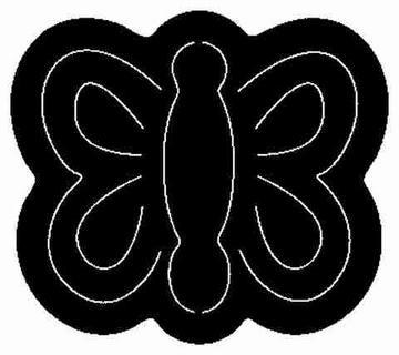 Schmetterling / butterfly ZCC 44
