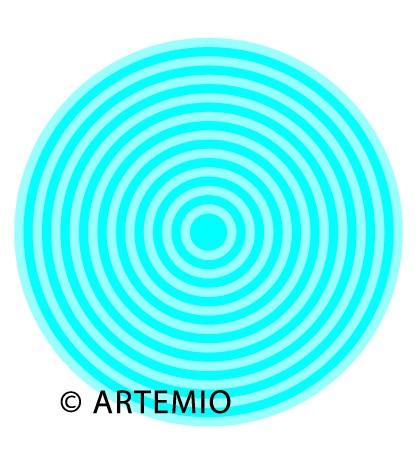 ARTEMIO Happycut Stanz-u. Prägeformen A 4 MEGA Kreise 18034004