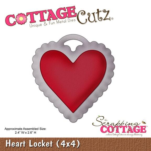 Herzschloß / heart locket SC CC4x4-311