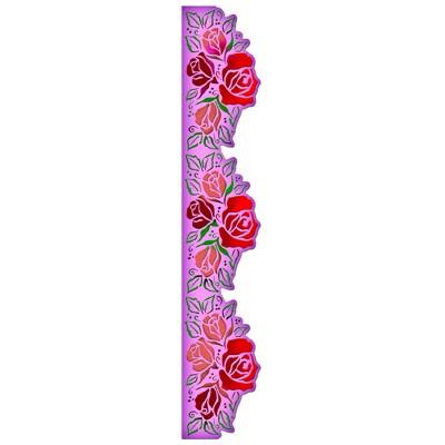 Spellbinders Stanzform Border Grand Rose / rose border S7-001