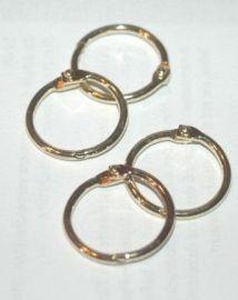 Buchring GOLD 4 cm innen / außen 4,5 cm BM 407399