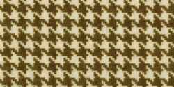 Filz Muster Houndstooth Champagne & Cacao 22,9x30,5 cm 493993 / 008311493993