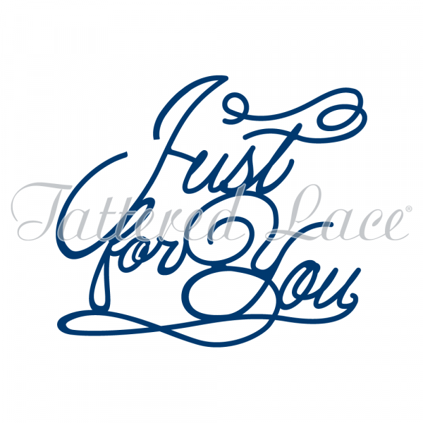 Tattered Lace Stanzform ' Just for You ' D425