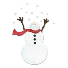 Sizzlits Schneemann # 2 / snowman # 2 655 255