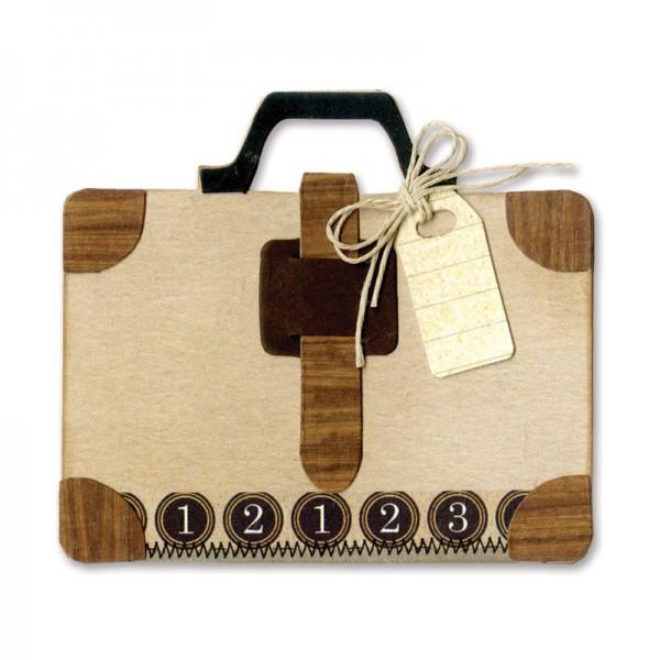 Sizzix Stanzform BIGZ Koffer / Suitcase 658366