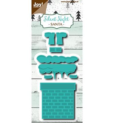 Joycrafts Stanzform Nikolaus kopfüber im Kamin / Santa 6002/1110