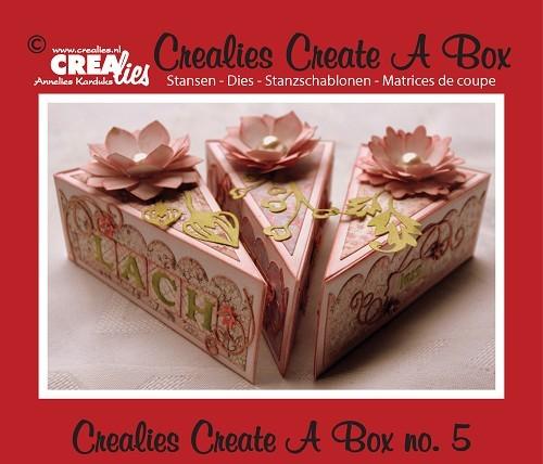 Crealies Stanzform Create A Box Nr. 5 Kuchenstück CCAB05