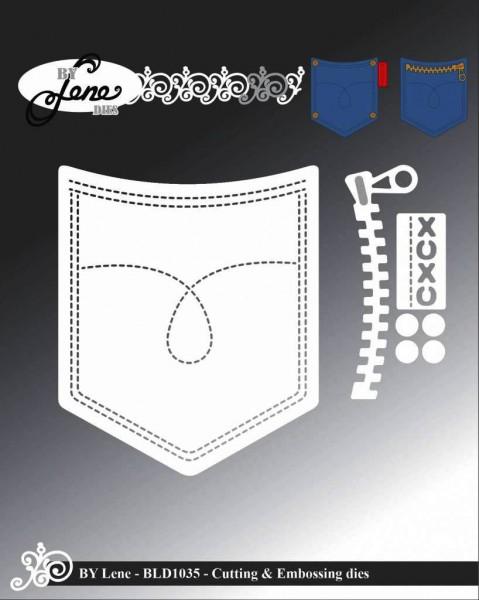 Lene Stanzform Hosen-Tasche / Pocket BLD1035