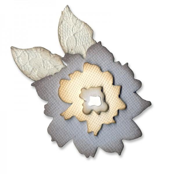 Sizzix Stanzform Originals MEDIUM Blume / Flower Layers w/Leaf 658228