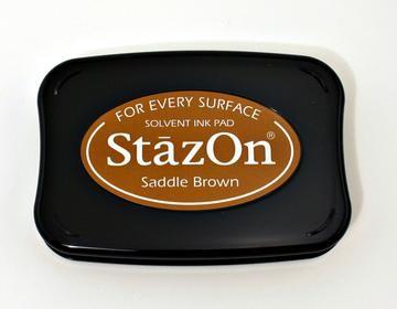 StazOn Stempelkissen braun / saddle brown SZ-000-043 / TSSZ43