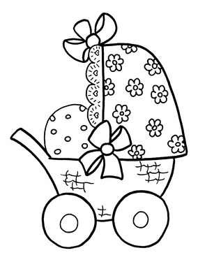 Stempel Kinderwagen 1827710