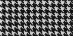Filz Muster Houndstooth Black & White 22,9 cm x 30,5 cm PRT-49397 / 008311493979