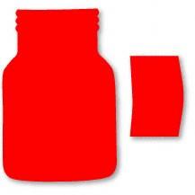 Sizzix Stanzform Originals LARGE Marmelandenglas / jar & label 38-0299