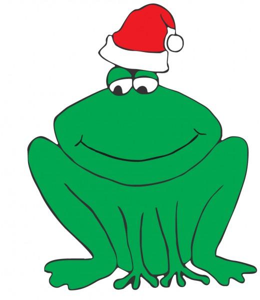 DD Weihnachtsfrosch / Christmas froggie C119