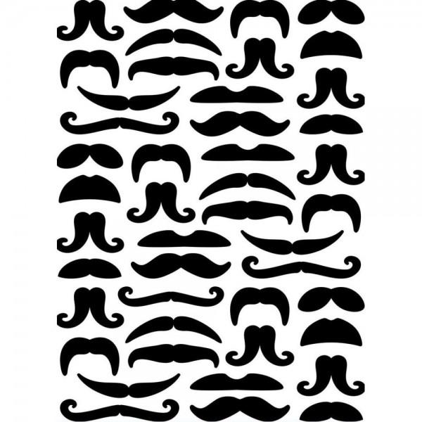 Darice Prägefolder Bärte / Mustaches 1219-124