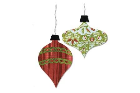 Sizzix Stanzform BIGZ Weihnachtskugeln # 3 / ornaments # 3 657054