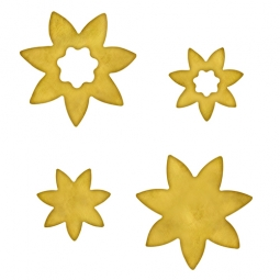 Spellbinders Embellishments Blank Flower One MB6-004